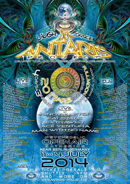 Fri, 11.Jul 14 - Antaris Project 2014 20th Anniversary