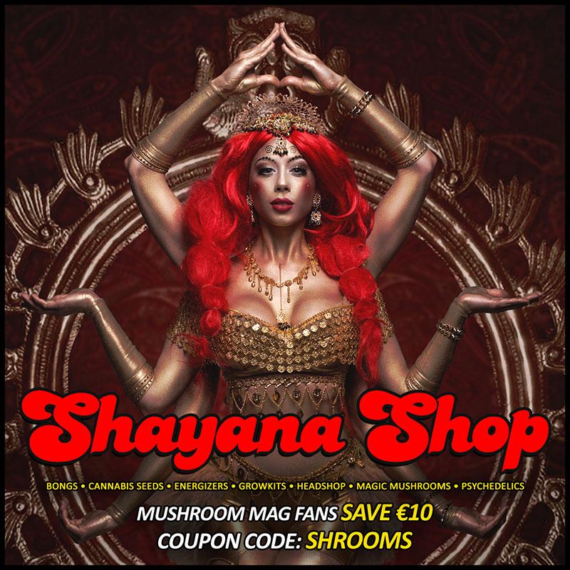 Shayana has Magical Goodies just for you!   mushroom magazine