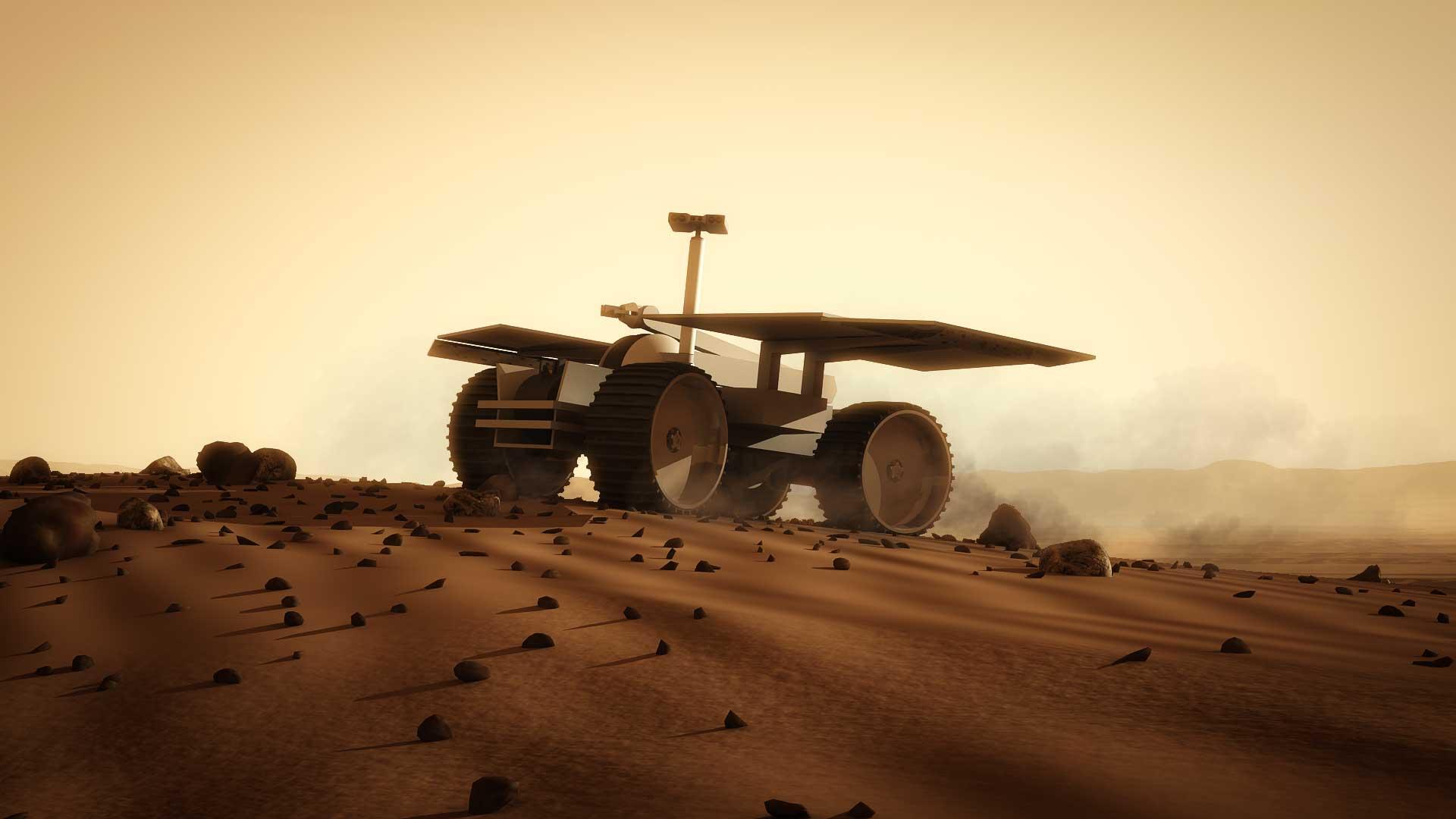 Mars 1 Way Trip Mars One Rover