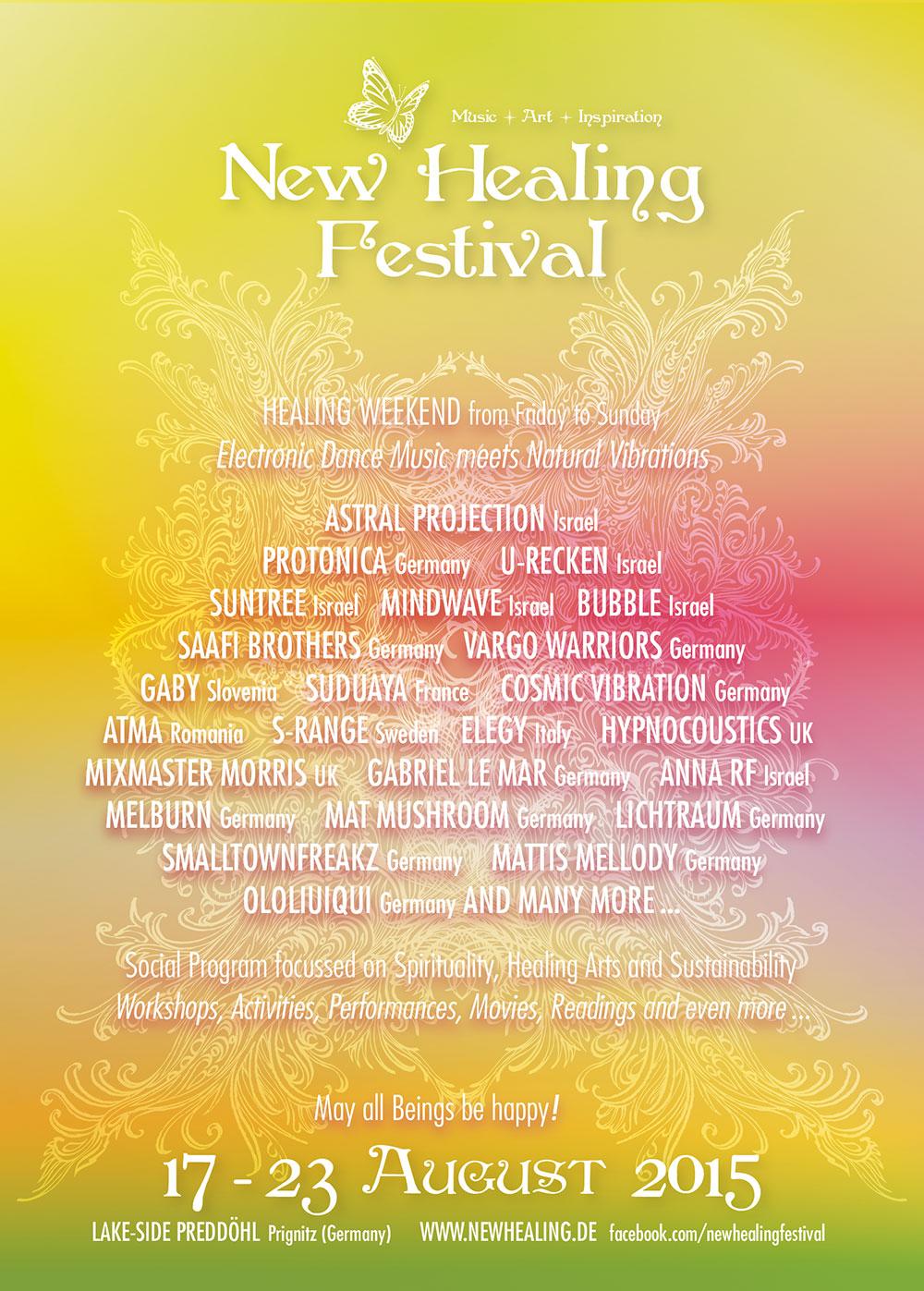 New Healing Festival