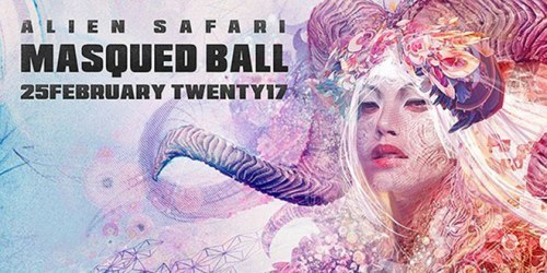 Alien Safari Masqued Ball 2017 @ Silwerstroom Resort, North of Capetown, South Africa