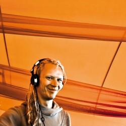 DJ Boom Shankar - Profile Pic Orange
