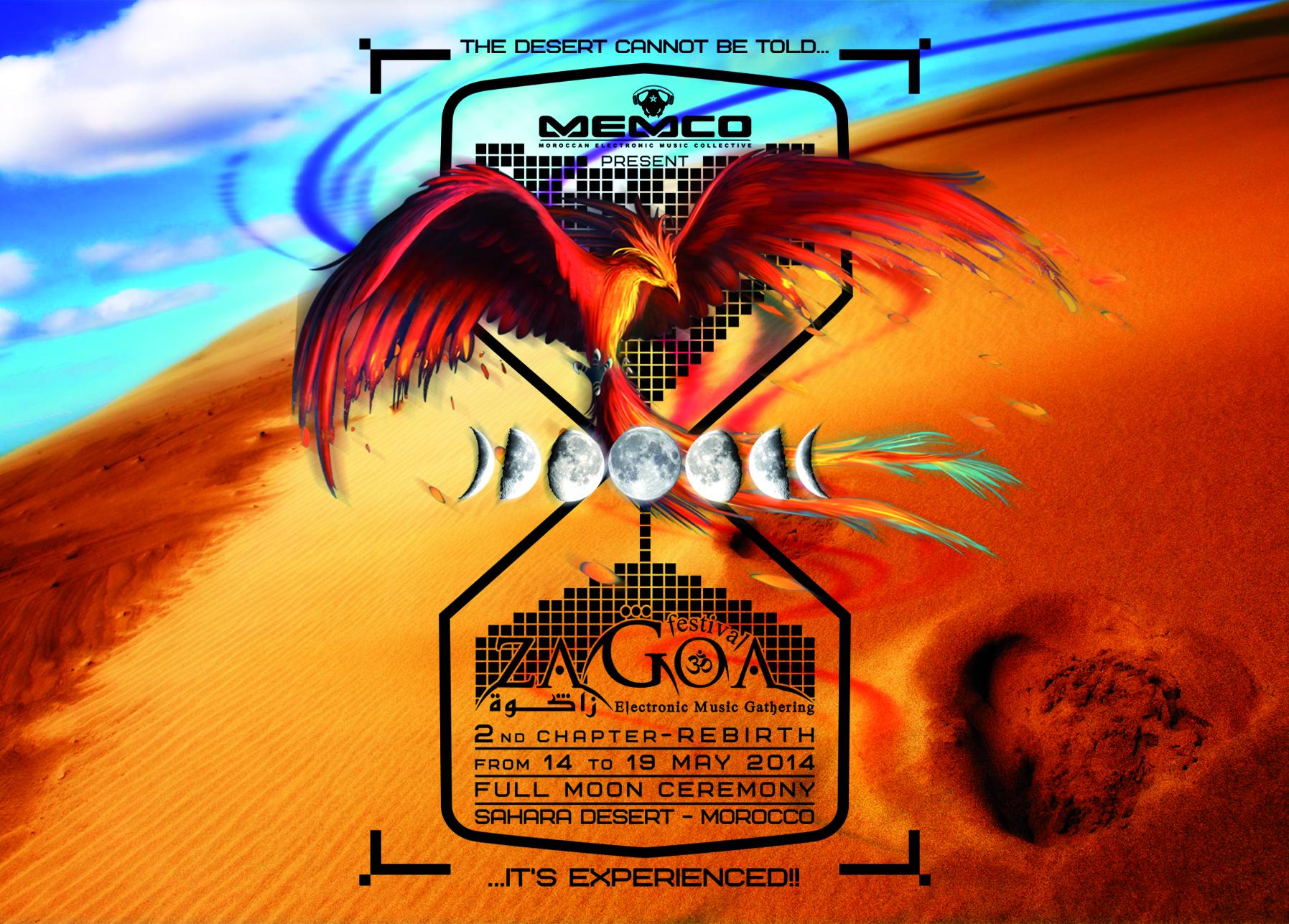 Flyer - Zagoa Festival 2014