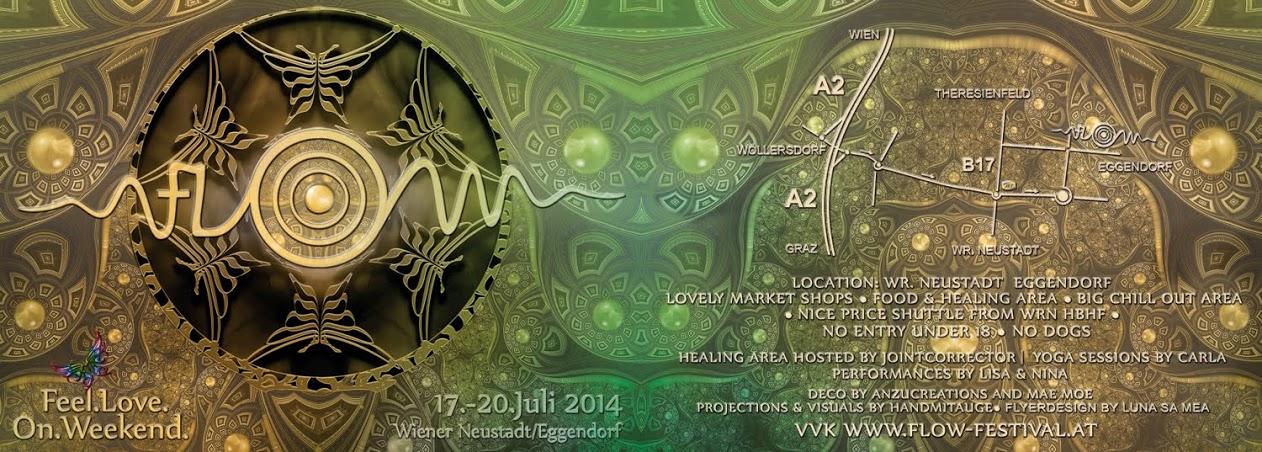 FLOW Festival Flyer 2014