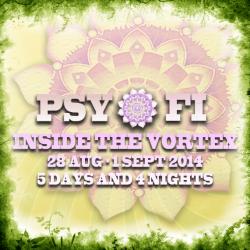 Psy-Fi Festival Flyer