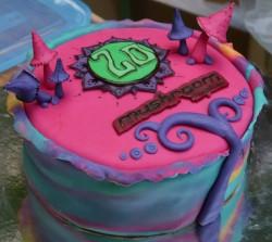 Mushroom Birthday cake - by Baking Bad Germany