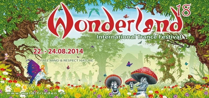 Fri, 22.Aug 14 - Waldfrieden - Wonderland 18 Open Air Festival 2014