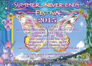 Summer Never Ends Festival 2015: breite deine Flügel aus und flieg!