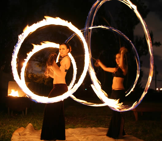 The Beautiful Art Of Fire Poi