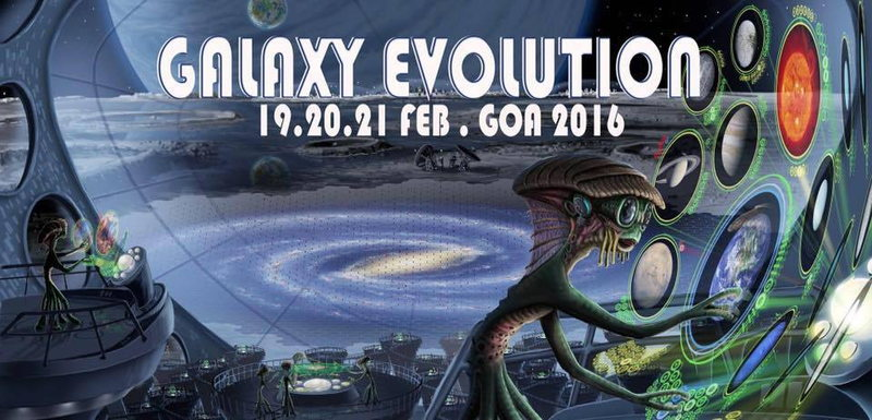 Galaxy Evolution at one of the best places in Goa: 19.-21.Feb 2016