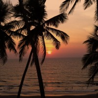 Goa beaches Sunset