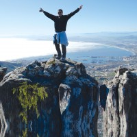 Trance Parties Cape Town - On Top of the table mountain 2016