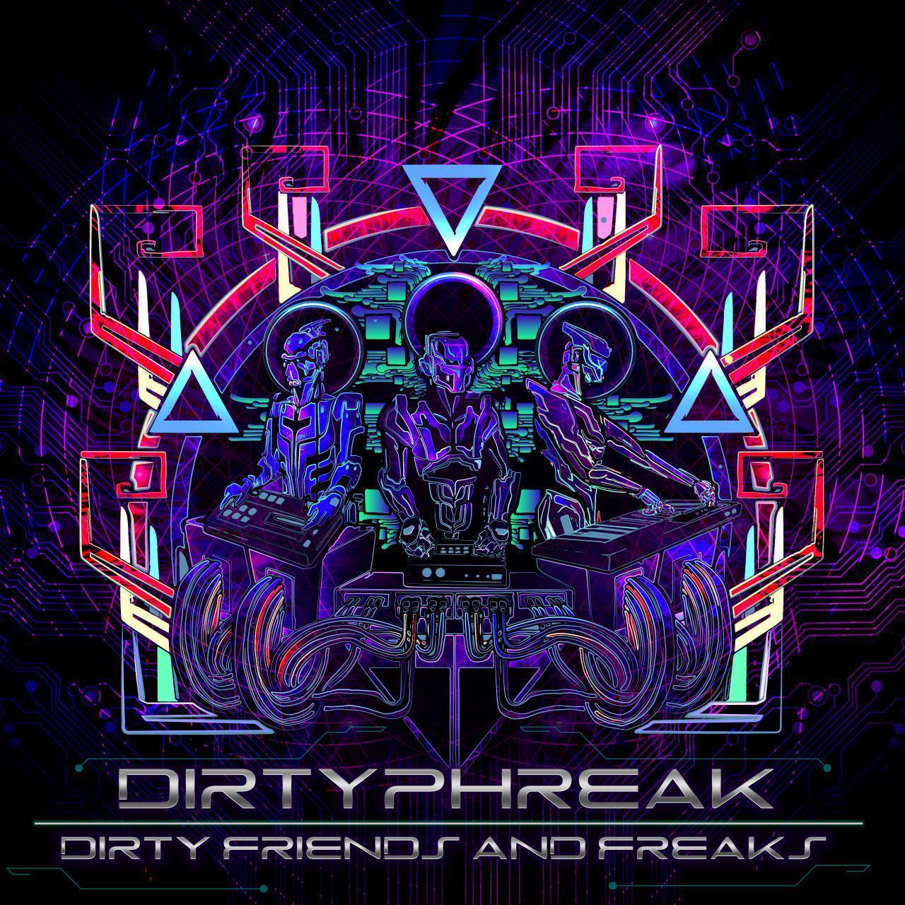 Hitech Trance Dirtyphreak - Dirty Friends And Freaks - Lamat Records
