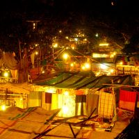 arpora market goa india trancers guide