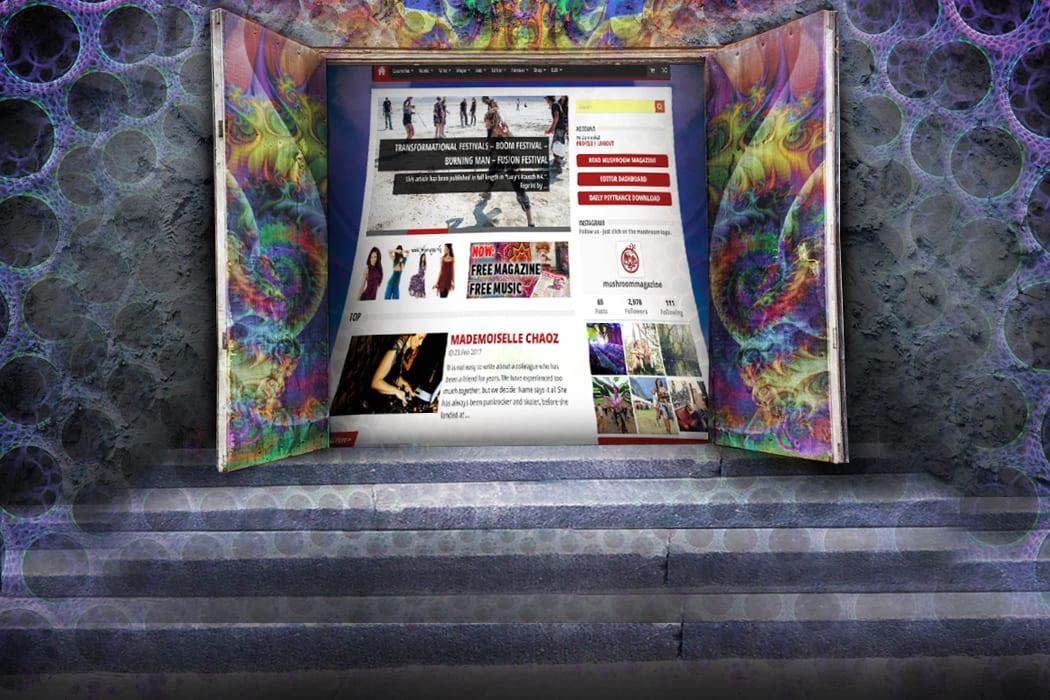 mushroom-magazine.com – Dein digitaler Backstage- Bereich