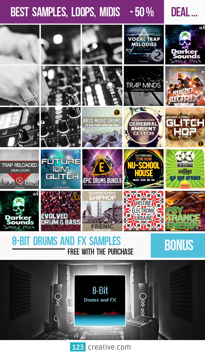123creative Deal: Psytrance Samples, Loops, Midis + Bonus ...