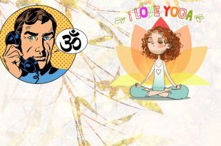 dr.goa yoga illustration drawing