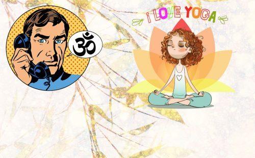dr.goa yoga illustration drawing