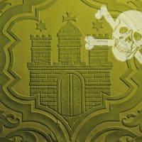 green hamburg st.pauli skull