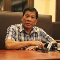 der philippinische Präsident Rodrigo Duterte
