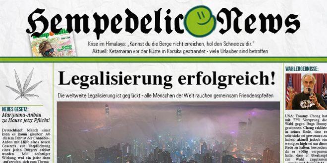 hempedelic news zeitung fake