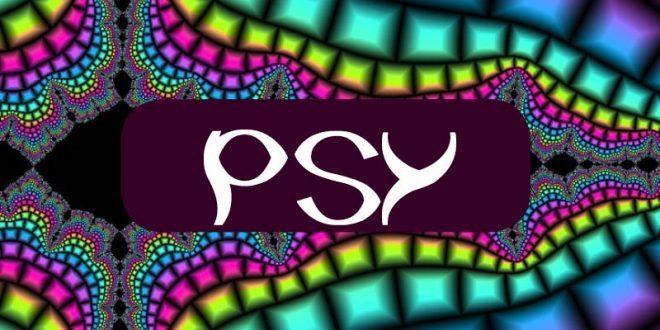 psychedelic trance psytrance psy logo colorful