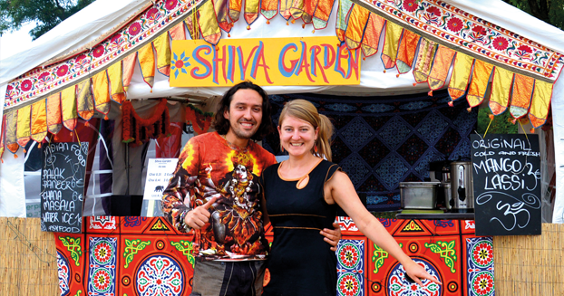 Festival Shops – Dream-Life, total freedom or just hard work?