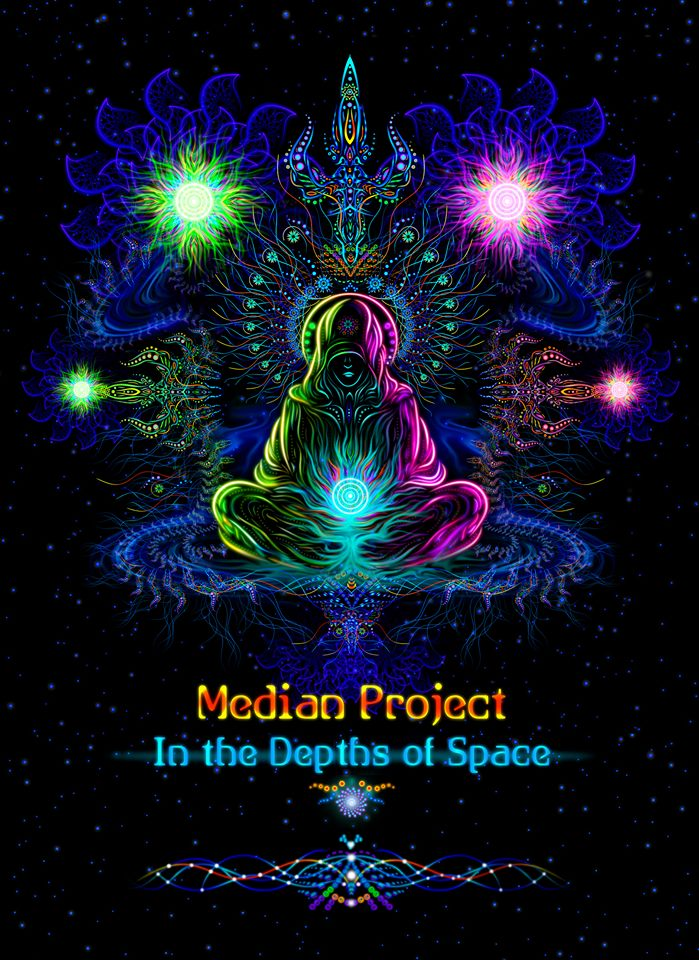 Median Project debut album 'In Depths of Space'- cosmic Goa trance!
