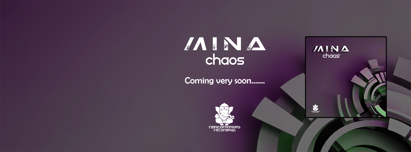 Mina – 'Chaos' out 18/6/18 on Reincarnations Recs