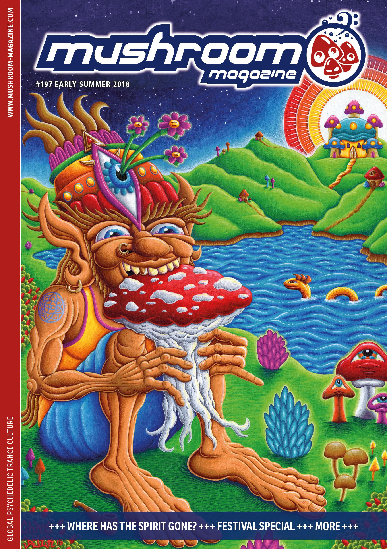 mushroom magazine & Hempedelic LESEN