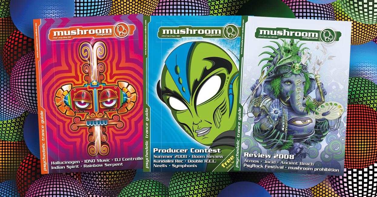 mushroom magazine: 10 years ago #3