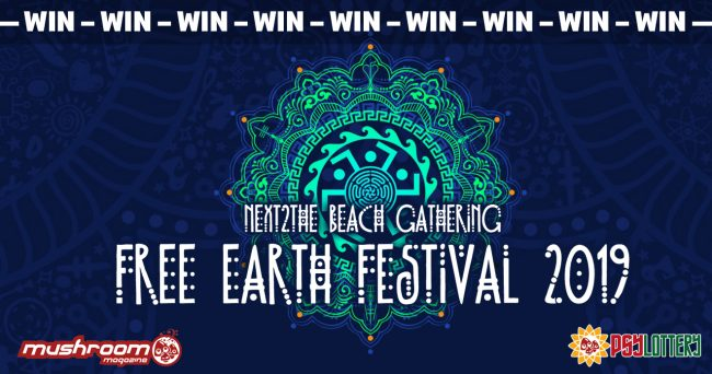Free Earth Festival - 22-26 August 2019 - Azapiko Beach, Sithonia, Halkidiki, Greece