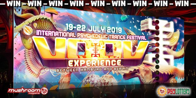 PSYLOTTERY – Win tickets for Voov Festival 2019