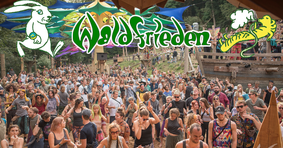 Waldfrieden – A living piece of Psytrance history